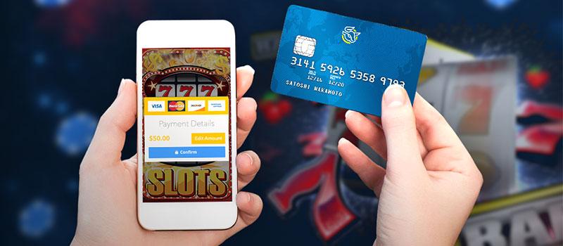 Transações de pagamento de cassino online